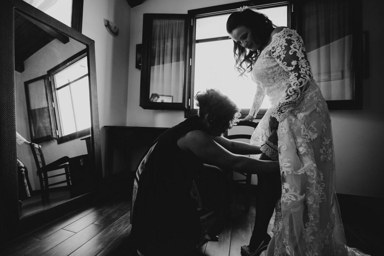 Matrimonio Rimini, preparazione sposa, abito da sposa