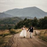 Foto di matrimonio sulle colline Bolognesi a Marzabotto in autunno