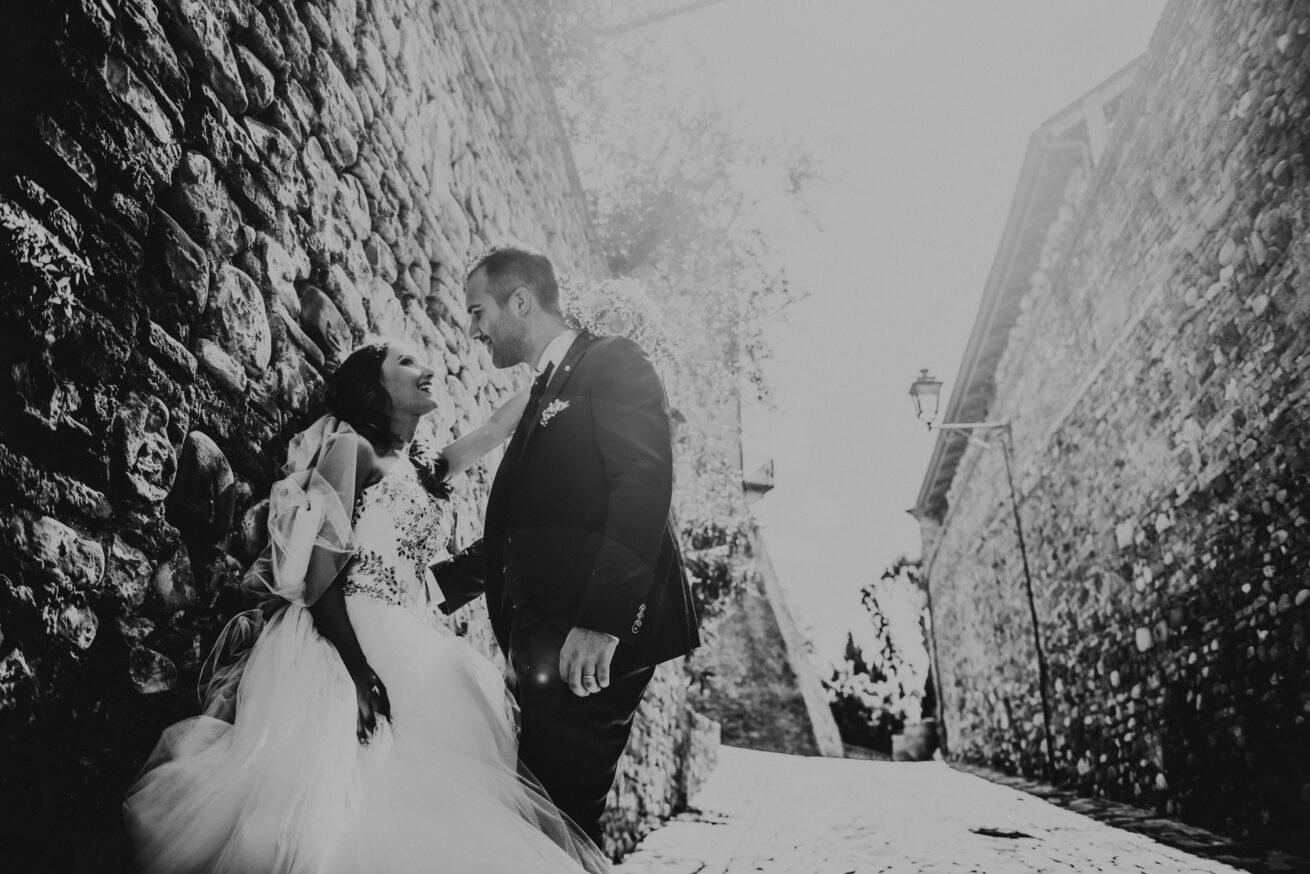 Matrimonio a Rimini, Foto sposi a Santarcangelo di Romagna