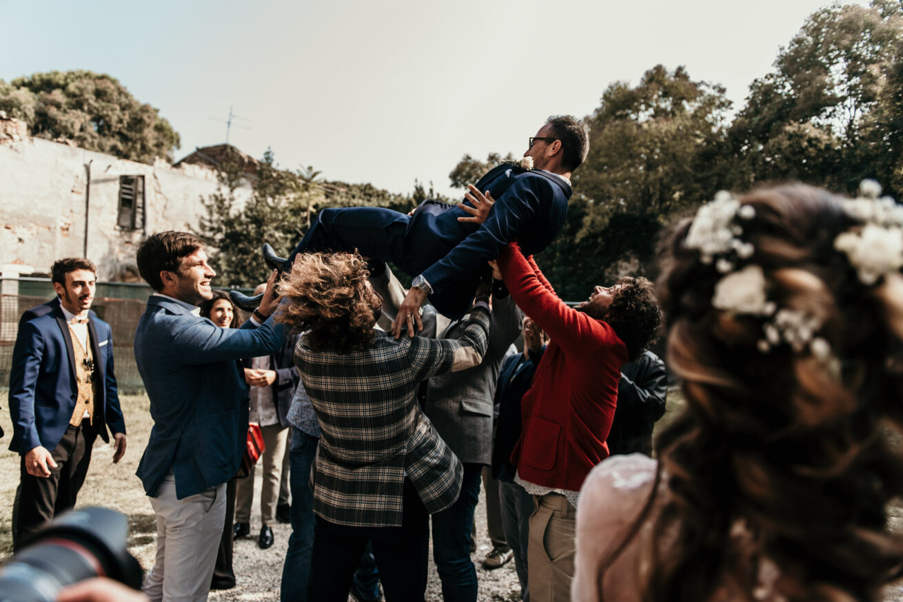 festeggiamenti di matrimonio a Rimini