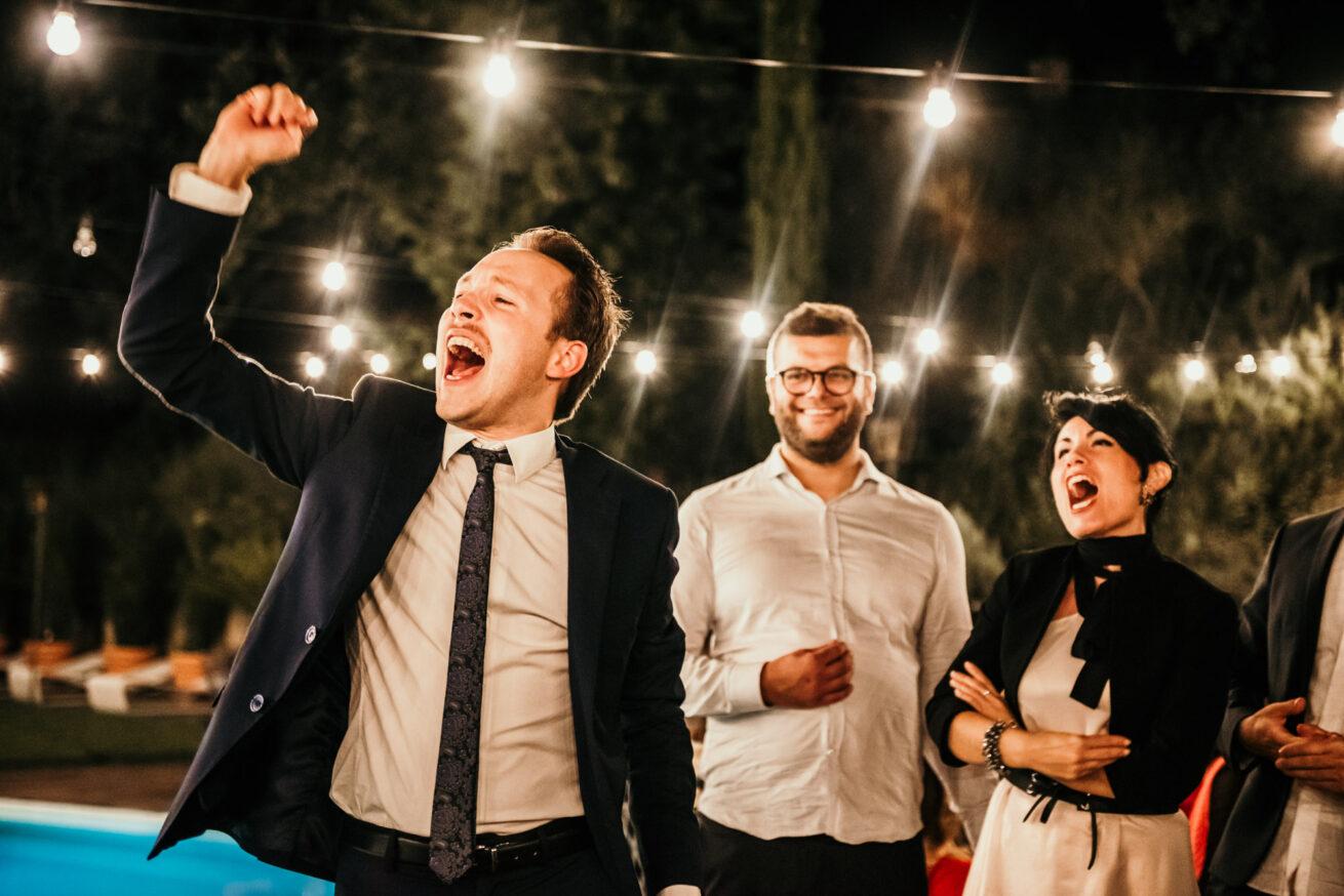 Matrimonio a Bologna, festeggiamenti invitati