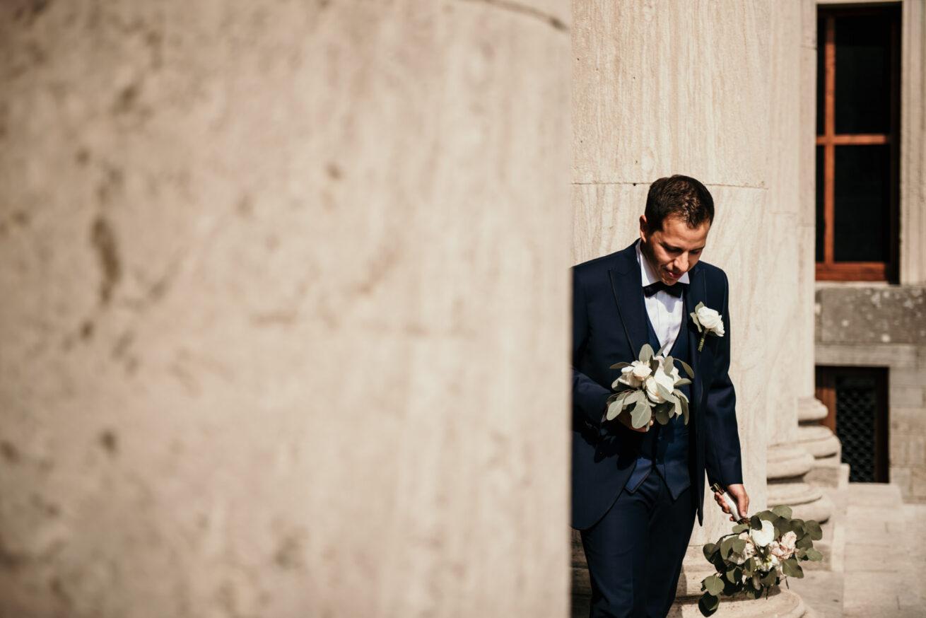 Matrimonio a San Marino, attesa sposo, Basilica del Santo