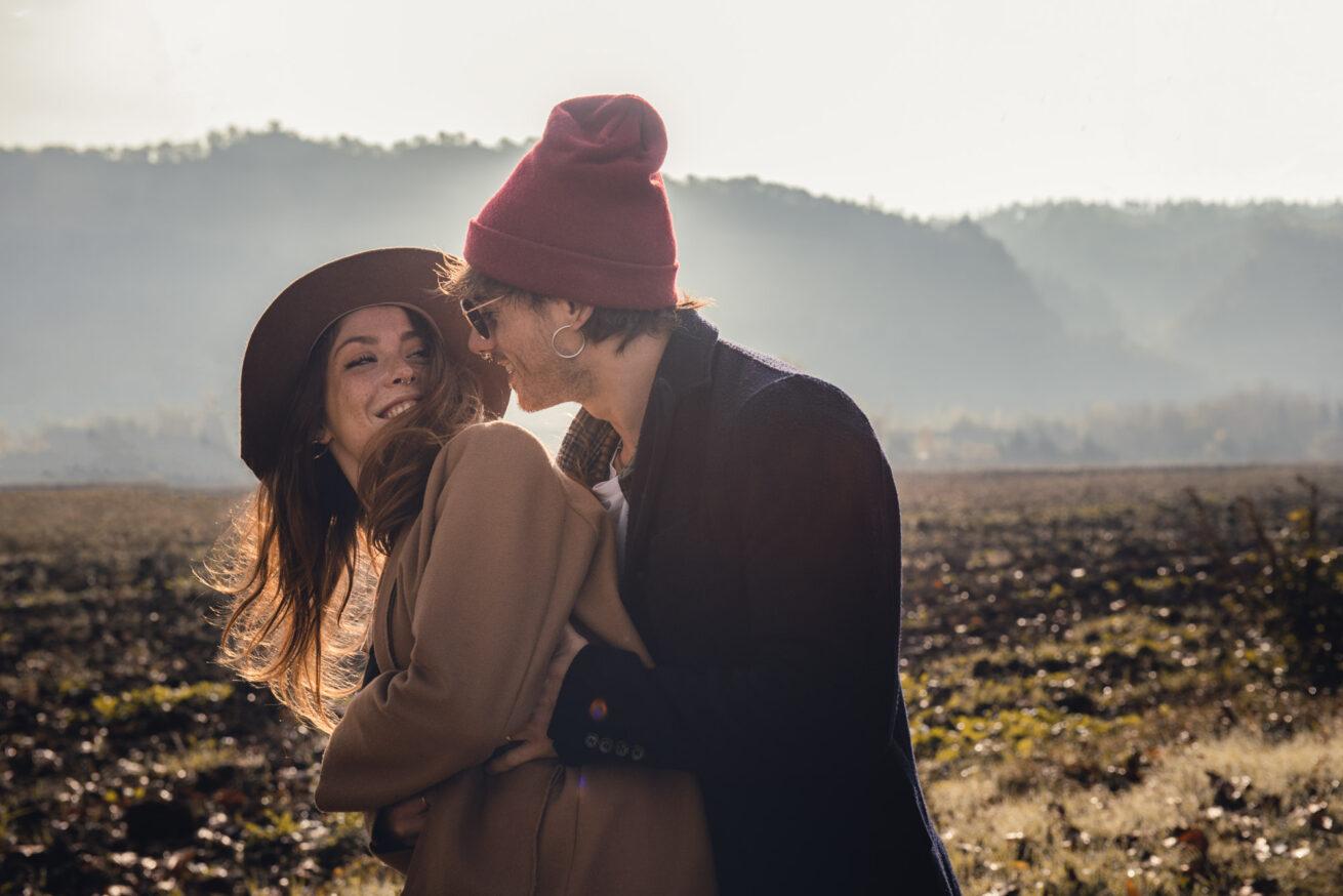 Servizio fotografico di coppia Bologna al tramonto