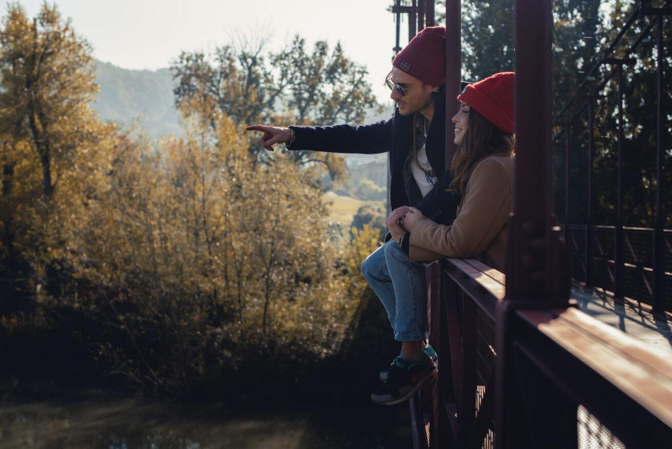 Foto di prematrimonio a Bologna coppia