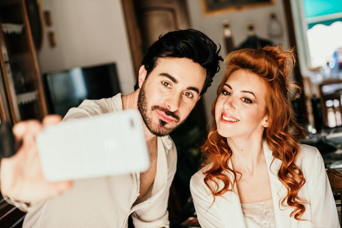 Preparazione sposa matrimonio a Rimini con trucco sposa