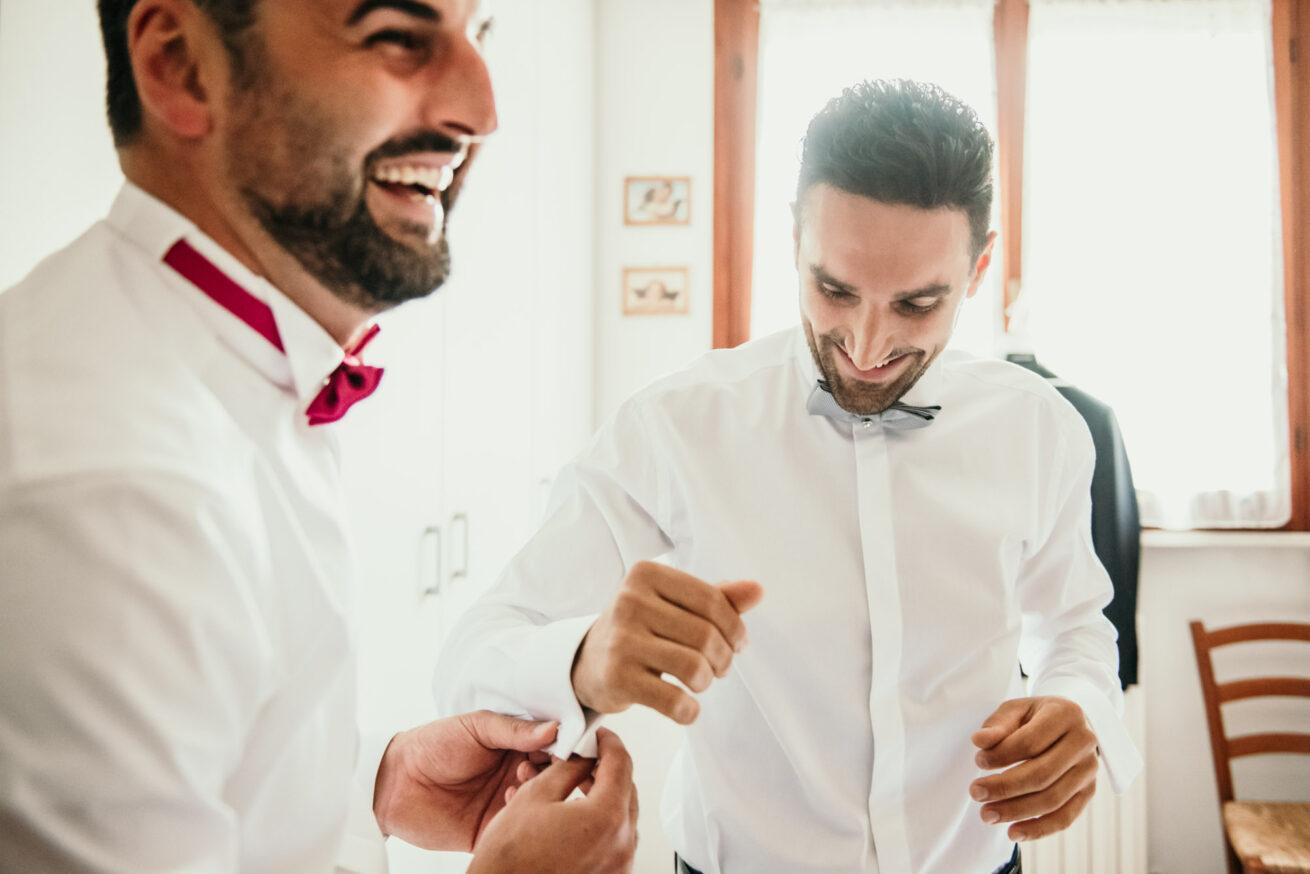 Preparazione Sposo matrimonio Pesaro Urbino