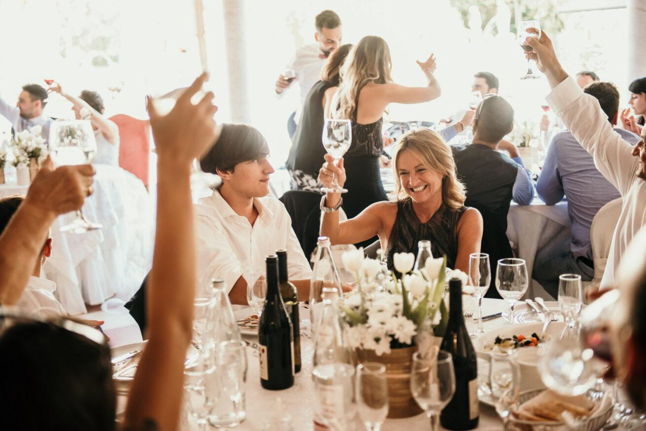 Matrimonio Bologna, Brindisi invitati