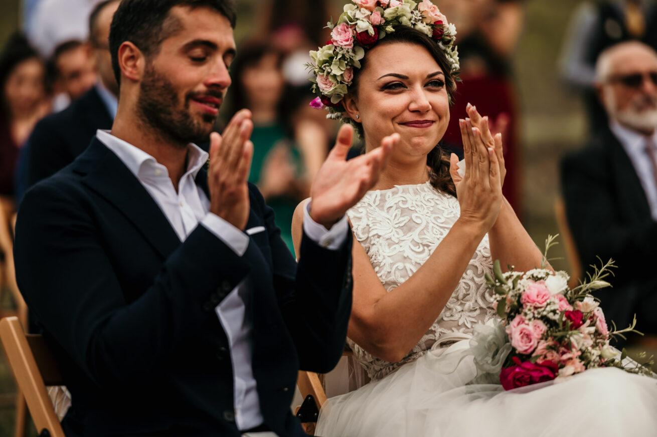Matrimonio a Bologna sui colli di Marzabotto, abito sposa, location Aldilà del Fiume